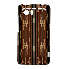 Floral Strings Pattern  HTC Vivid / Raider 4G Hardshell Case