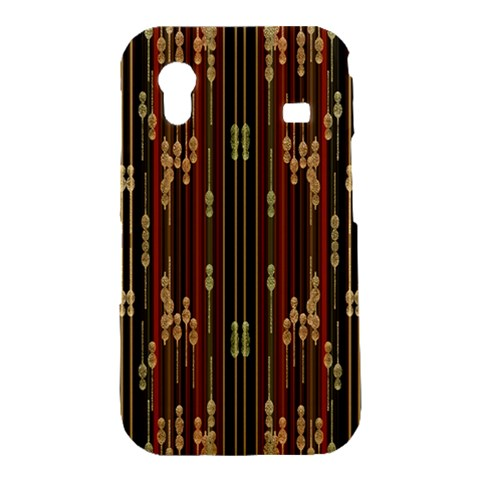 Floral Strings Pattern  Samsung Galaxy Ace S5830 Hardshell Case