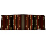 Floral Strings Pattern  Body Pillow Case Dakimakura (Two Sides) Back