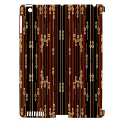 Floral Strings Pattern  Apple iPad 3/4 Hardshell Case (Compatible with Smart Cover)