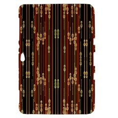 Floral Strings Pattern  Samsung Galaxy Tab 8.9  P7300 Hardshell Case