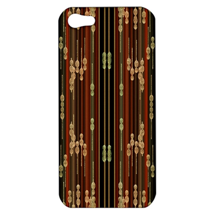 Floral Strings Pattern  Apple iPhone 5 Hardshell Case