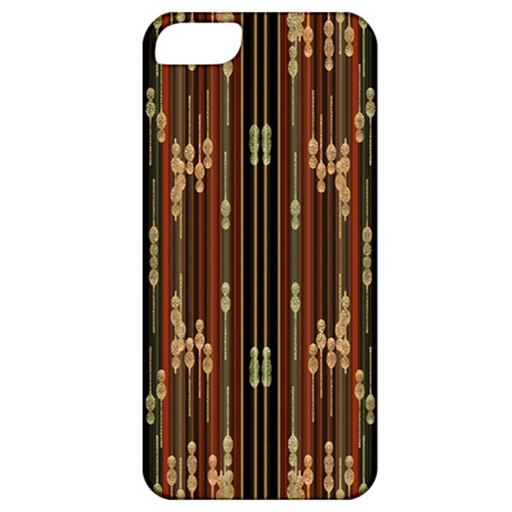 Floral Strings Pattern  Apple iPhone 5 Classic Hardshell Case