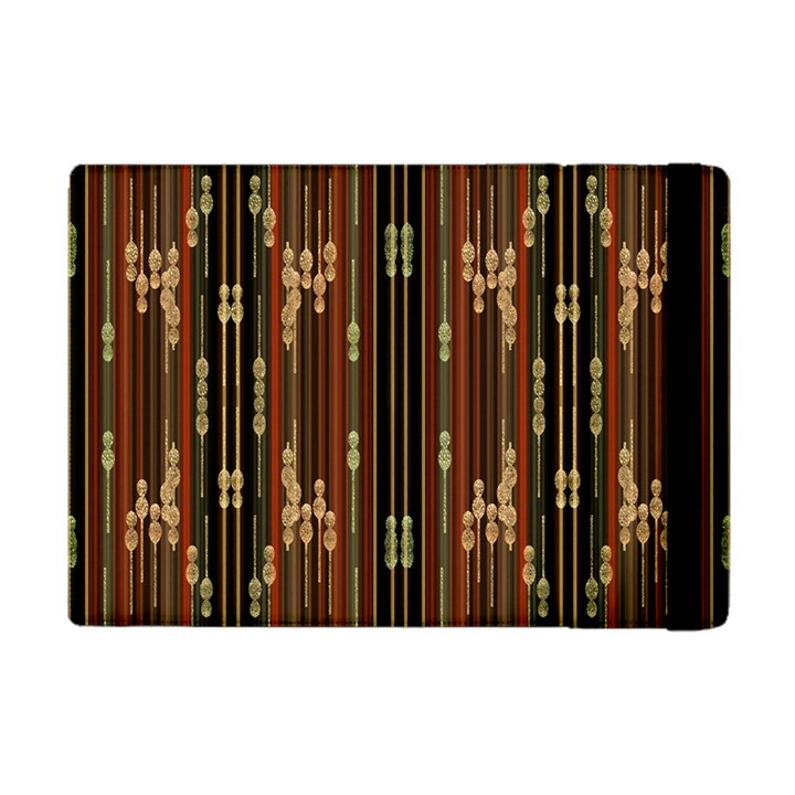 Floral Strings Pattern  Apple iPad Mini Flip Case