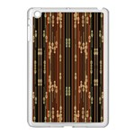 Floral Strings Pattern  Apple iPad Mini Case (White) Front