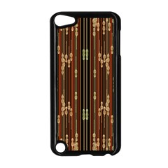 Floral Strings Pattern  Apple iPod Touch 5 Case (Black)