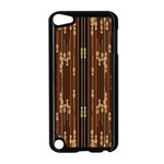 Floral Strings Pattern  Apple iPod Touch 5 Case (Black) Front