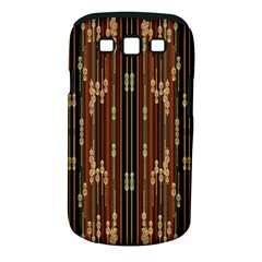Floral Strings Pattern  Samsung Galaxy S III Classic Hardshell Case (PC+Silicone)