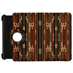 Floral Strings Pattern  Kindle Fire HD Flip 360 Case Front