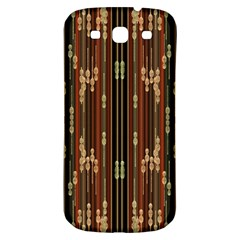 Floral Strings Pattern  Samsung Galaxy S3 S III Classic Hardshell Back Case