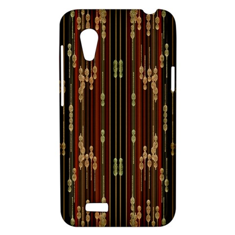 Floral Strings Pattern  HTC Desire VT (T328T) Hardshell Case