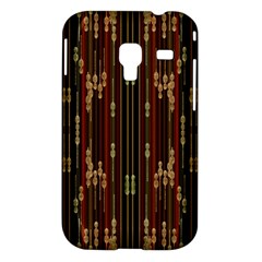 Floral Strings Pattern  Samsung Galaxy Ace Plus S7500 Hardshell Case