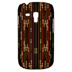 Floral Strings Pattern  Samsung Galaxy S3 MINI I8190 Hardshell Case