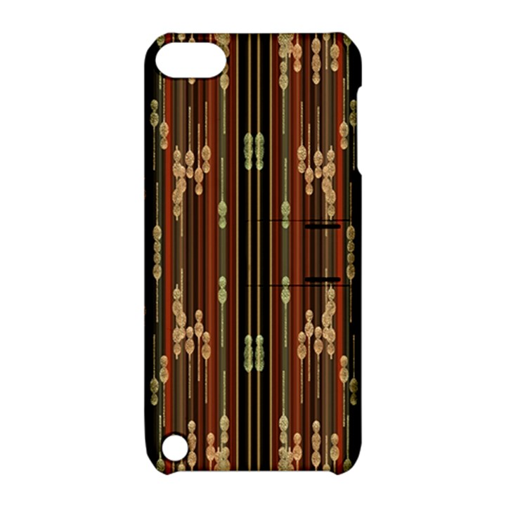 Floral Strings Pattern  Apple iPod Touch 5 Hardshell Case with Stand