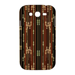 Floral Strings Pattern  Samsung Galaxy Grand DUOS I9082 Hardshell Case