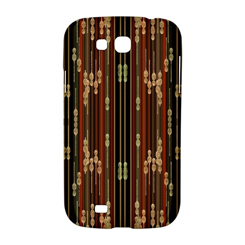 Floral Strings Pattern  Samsung Galaxy Grand GT-I9128 Hardshell Case