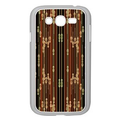 Floral Strings Pattern  Samsung Galaxy Grand DUOS I9082 Case (White)