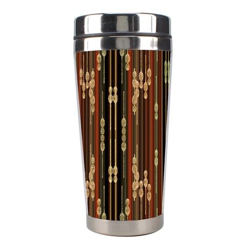 Floral Strings Pattern  Stainless Steel Travel Tumblers