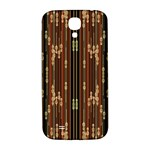 Floral Strings Pattern  Samsung Galaxy S4 I9500/I9505  Hardshell Back Case Front