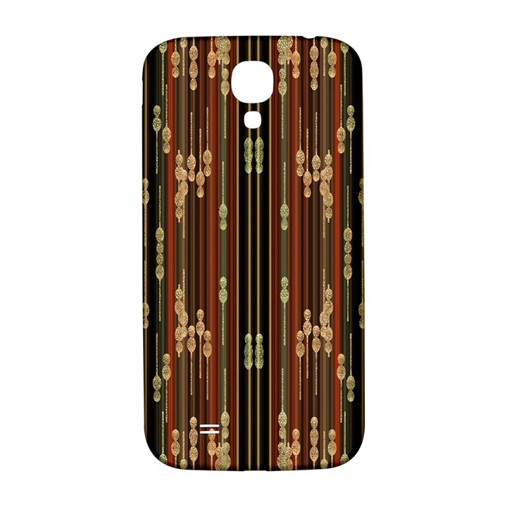 Floral Strings Pattern  Samsung Galaxy S4 I9500/I9505  Hardshell Back Case