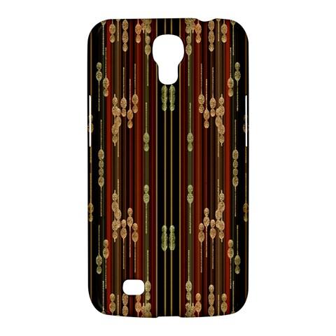 Floral Strings Pattern  Samsung Galaxy Mega 6.3  I9200 Hardshell Case