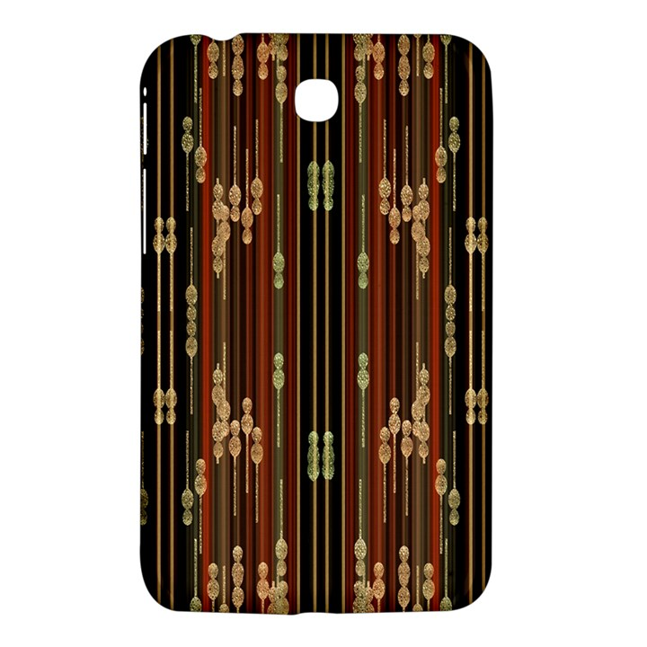 Floral Strings Pattern  Samsung Galaxy Tab 3 (7 ) P3200 Hardshell Case