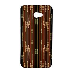 Floral Strings Pattern  HTC Butterfly S/HTC 9060 Hardshell Case