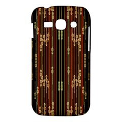 Floral Strings Pattern  Samsung Galaxy Ace 3 S7272 Hardshell Case