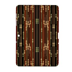 Floral Strings Pattern  Samsung Galaxy Tab 2 (10.1 ) P5100 Hardshell Case