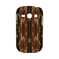 Floral Strings Pattern  Samsung Galaxy S6810 Hardshell Case