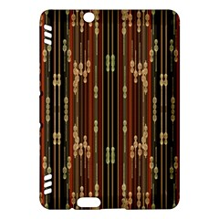 Floral Strings Pattern  Kindle Fire HDX Hardshell Case