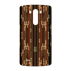 Floral Strings Pattern  LG G3 Back Case