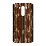 Floral Strings Pattern  LG G3 Back Case Front