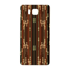 Floral Strings Pattern  Samsung Galaxy Alpha Hardshell Back Case