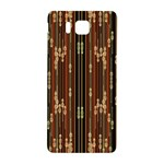 Floral Strings Pattern  Samsung Galaxy Alpha Hardshell Back Case Front