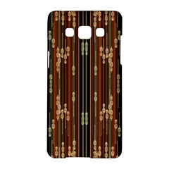 Floral Strings Pattern  Samsung Galaxy A5 Hardshell Case
