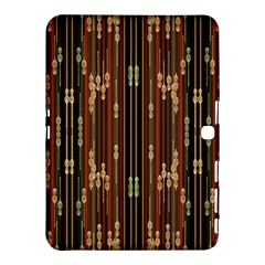 Floral Strings Pattern  Samsung Galaxy Tab 4 (10.1 ) Hardshell Case