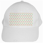 Fruit Pattern Vector Background White Cap Front