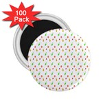 Fruit Pattern Vector Background 2.25  Magnets (100 pack)  Front