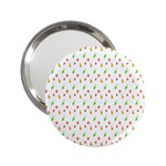 Fruit Pattern Vector Background 2.25  Handbag Mirrors Front