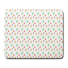 Fruit Pattern Vector Background Large Mousepads