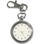 Fruit Pattern Vector Background Key Chain Watches Front