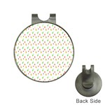 Fruit Pattern Vector Background Hat Clips with Golf Markers Front