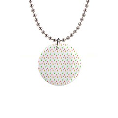 Fruit Pattern Vector Background Button Necklaces
