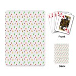 Fruit Pattern Vector Background Playing Card Back