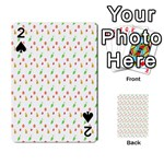 Fruit Pattern Vector Background Playing Cards 54 Designs  Front - Spade2