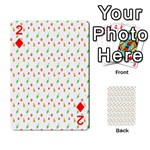 Fruit Pattern Vector Background Playing Cards 54 Designs  Front - Diamond2