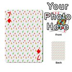 Fruit Pattern Vector Background Playing Cards 54 Designs  Front - Diamond7