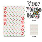 Fruit Pattern Vector Background Playing Cards 54 Designs  Front - Joker2