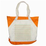 Fruit Pattern Vector Background Accent Tote Bag Front